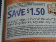 Purina Beneful Coupons