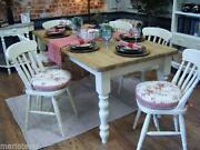 Old Dining Table and Chairs