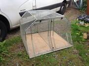 Double Dog Car Crate