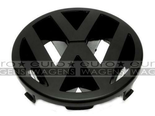 vw emblem schwarz polo ebay. Black Bedroom Furniture Sets. Home Design Ideas