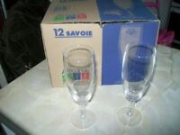12 SAVOIE ARCOROC GLASSES, Last Set