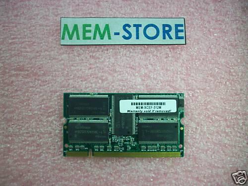 MEM-XCEF720-512M 512MB memory for Cisco DFC3A NEW