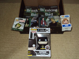 FUNKO POP BATMAN BLACK FRIDAY GAMESTOP EXCLUSIVE, FROZEN, LOKI