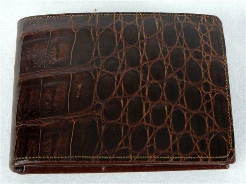 Vintage Alligator Wallet Ebay