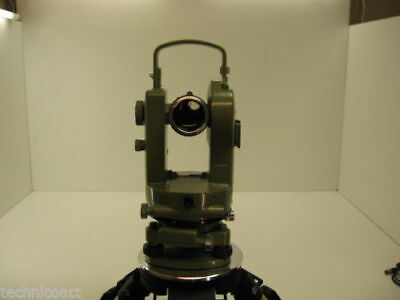 Wildleica Heerbrugg T1 70 6 Theodolite For Surveying 1 Month Warranty