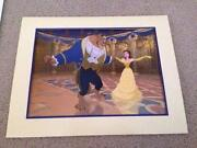 Beauty and The Beast Lithograph