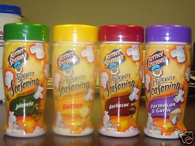 Kernel Seasons 4 Small Jars Popcorn Seasons