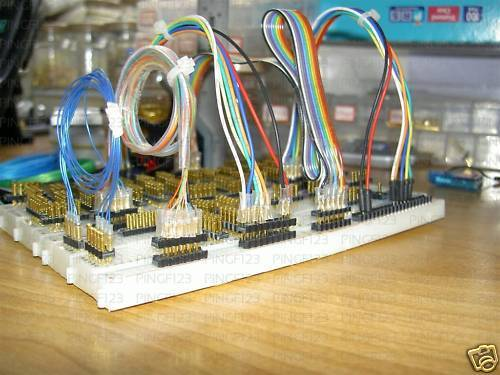20 jumper interface pin header  for breadboard pcb and small wire