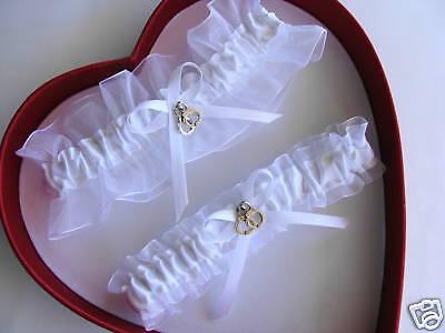 New white on white Wedding Garter  SELECT set, keepsake, toss, plus size-Prom](Plus Size Wedding Garter)