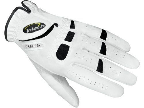 LEFT HAND CABRETTA LEATHER GOLF GLOVES 3 PK SIZE MEDIUM FOR