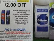 Gillette Fusion Coupons