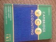 Cambridge VCE Accounting