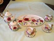 Miniature China Tea Set