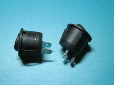 1pcs. Black Off On Boat Car Rocker Switch 2pin Universal Flip Switch 12v 12 Volt