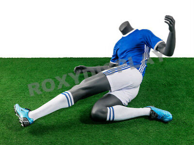 Male Fiberglass Headless Athletic Style Mannequin Dress Form Display Mz-tq5