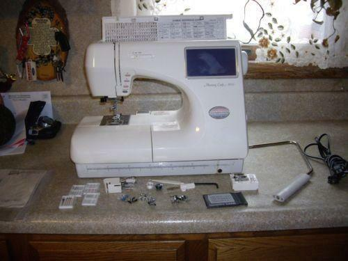 Janome 9000 crafts ebay for Janome memory craft 9000 problems