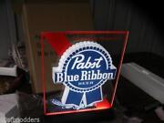 Pabst Neon Beer Sign