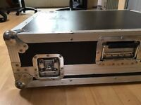 Road Ready Flight Case suitable for large mixing desk, DJ turntables or large guitar affects board