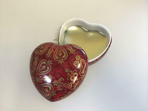 Heart Shaped Valentine Decoration / Gift Box - Pack of 10