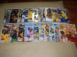 22 DC COMICS, SINESTRO #1 - 5, 9 - 23, ANNUAL #1, 3D FUTURES END