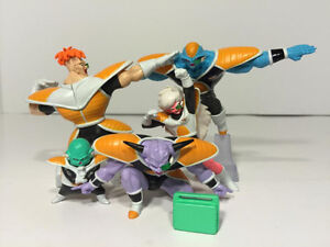 Ginyu Force 5 Dragon Ball Z Gashapon Figure Set - Manga