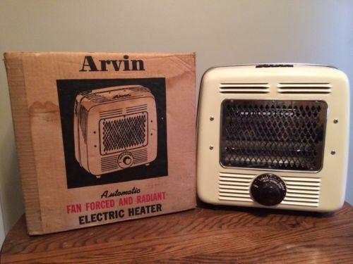 Vintage Arvin Heater Ebay