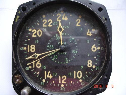 Waltham Aircraft Clock Ebay