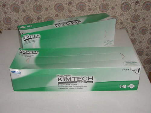 280 - Kimwipes Kimtech Science Band Delicate Task Wipers White 14.7x16.6 140/Bx