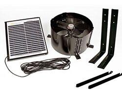 Us Sunlight 1015APV 15 Watt Solar Gable Fan All Purpose Ventilator