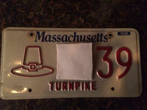 & Massachusetts License Plate | eBay