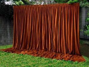 antique velvet curtains