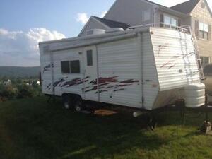used toyhauler travel trailers
