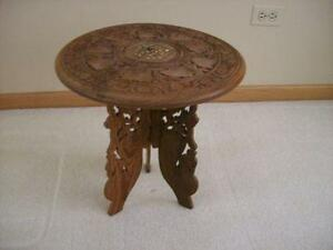 Carved Table India