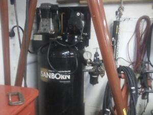 used 5 hp air compressor