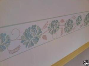 Green Wallpaper Border