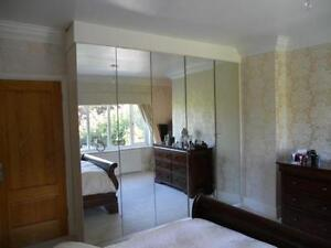fitted mirror wardrobes