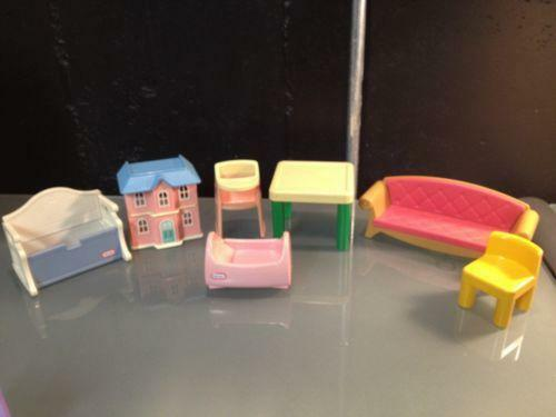 Delightful Little Tikes Dollhouse Furniture | EBay