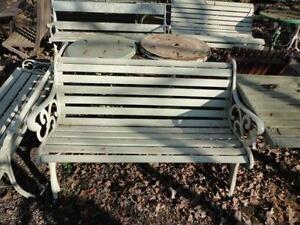Antique Garden Benches
