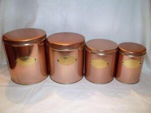 Elegant Kitchen Canisters Ebay With Unusual Kitchen Canisters