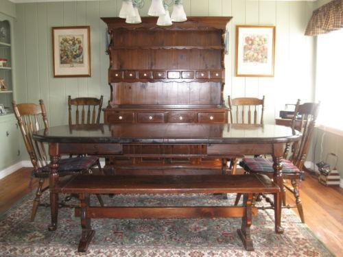 ... Ethan Allen Dining Room Sets Used By Ethan Allen Furniture Ebay ...
