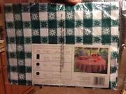 Vinyl Picnic Tablecloths