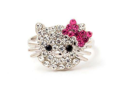 Hello Kitty Bow Rings