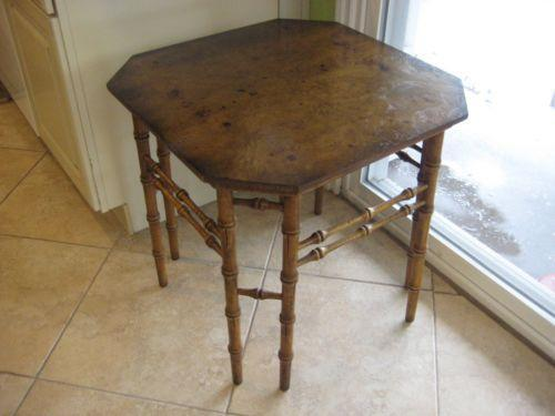 Burl Wood Furniture | EBay