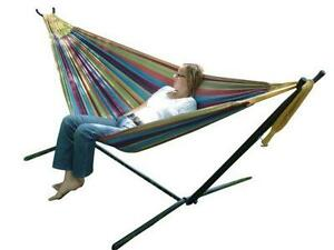 double hammock stands