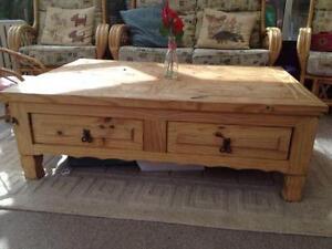 Wood Rustic Coffee Tables