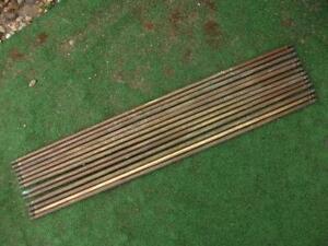 Antique Brass Stair Rods