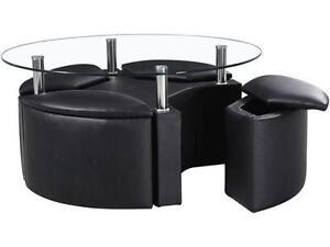 Black Storage Coffee Tables