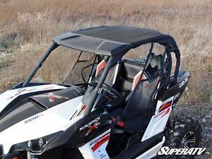 Super ATV Bimini Soft Top With Visor Can Am Maverick Commander Convertible  Roof