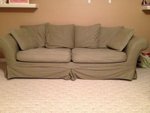 Charmant Pottery Barn Sofa Slipcover | EBay