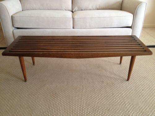 Charmant Mid Century Bench | EBay